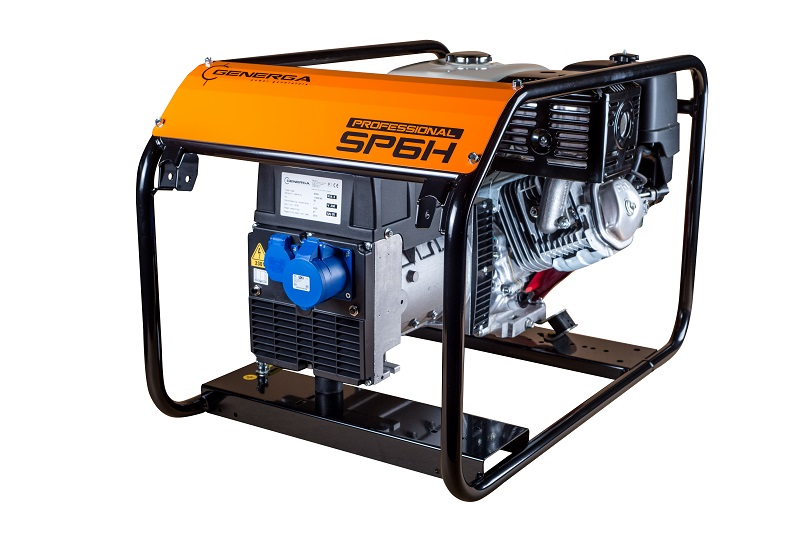Petrol power generator SP6H