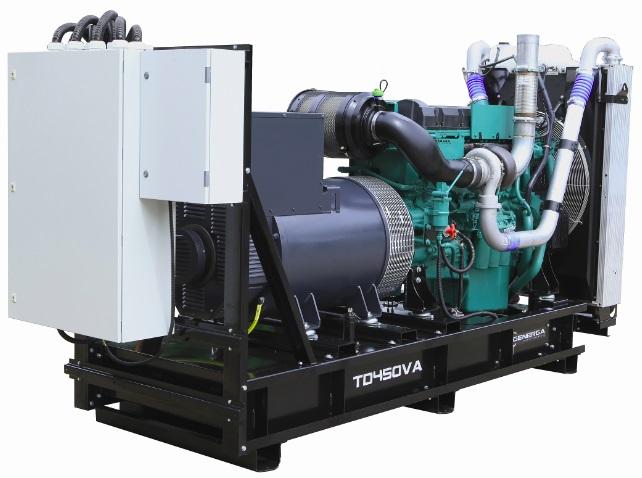 Diesel power generator TD450VA