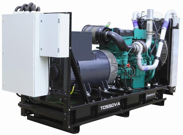 Diesel power generator TD550VA