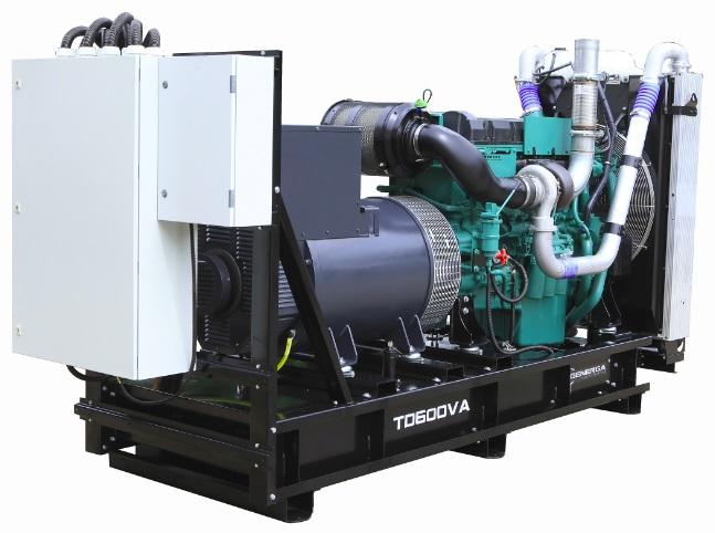 Diesel power generator TD630VA