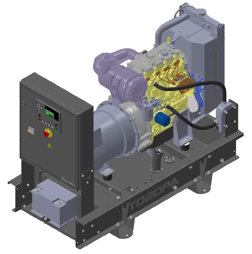 Diesel power generator TD20PA